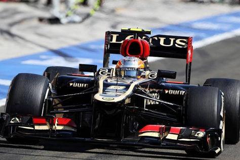 Romain Grosjean wurde trotz zwei Bestrafungen Sechster