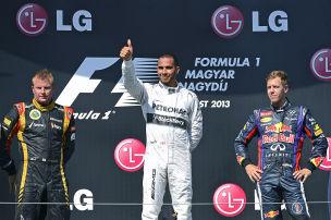 Hamilton siegt in Ungarn