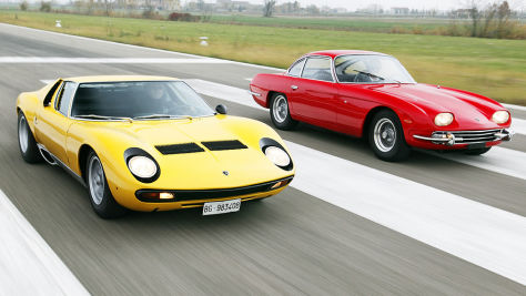 Lamborghini: Stars mit Stier