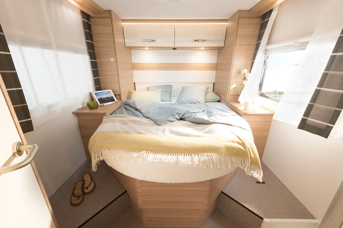 Dethleffs Globebus (Integriert) Bett