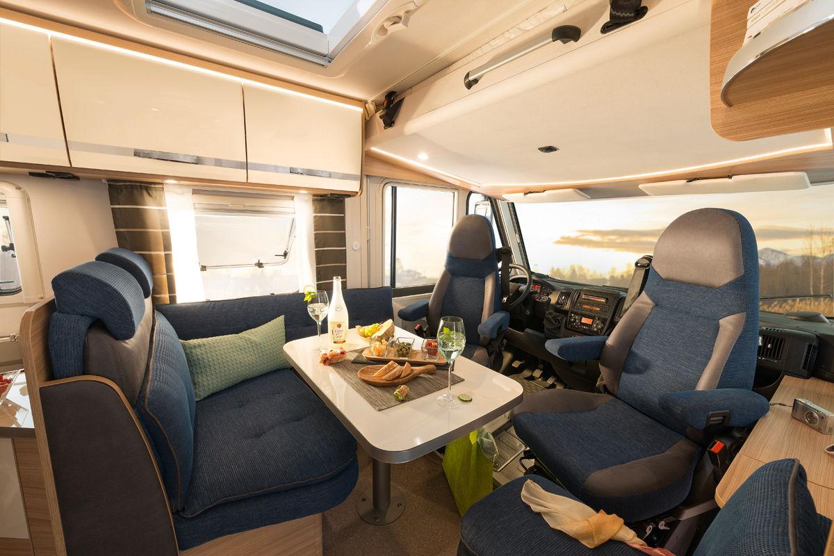 Dethleffs Globebus (integriert) Innenansicht