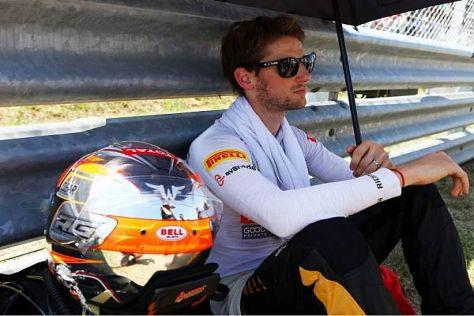 Romain Grosjean kann mit seiner Ungarn-Ausbeute unterm Strich nicht zufrieden sein