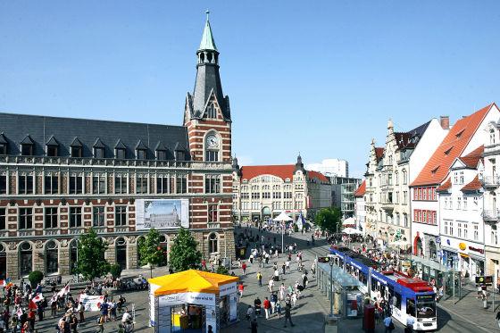 Erfurt Stadtansicht