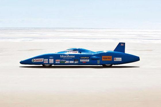 Bluebird Raketen-Auto