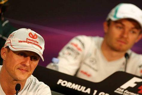 Rosberg machte Schumacher in den Comeback-Jahren das Leben schwer