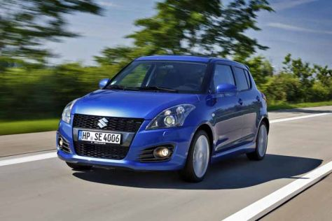 suzuki swift sport 5 t rer iaa 2013. Black Bedroom Furniture Sets. Home Design Ideas