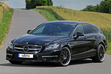 v th v63rs auf basis mercedes benz cls shooting brake 63. Black Bedroom Furniture Sets. Home Design Ideas
