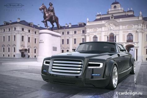 Mazda3 I Sport >> ZIL President: Design-Entwurf für Vladimir Putins ...