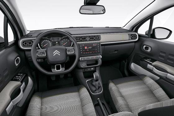 Citroën C3 (2016) Cockpit