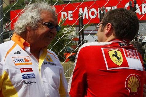 Früher war Ferrari der Hauptkonkurrent von Flavio Briatores Team