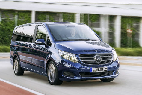 Mercedes klasse v hausarbeit organisieren