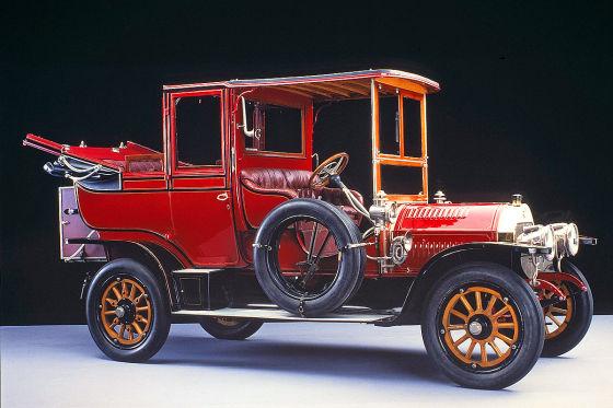 Benz Typ 24/40 PS Landaulet (1907)