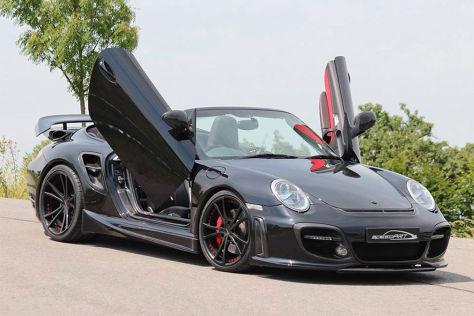 Porsche 911 Turbo Cabrio Mit Tuning Von Speedart Autobild De