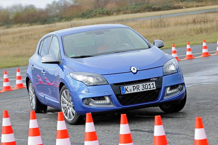 Platz 10: Renault Mégane