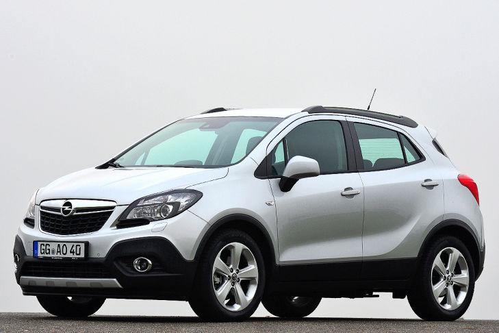 Platz 7: Opel Mokka