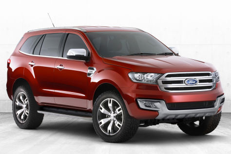 Ford Everest Concept 2013