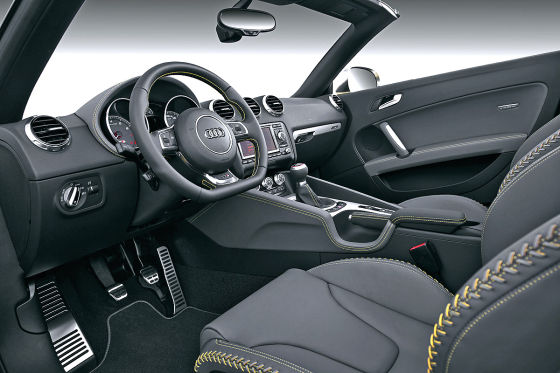 Audi TTS Competition Innenraum