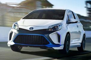 Toyota Yaris Hybrid-R: IAA 2013