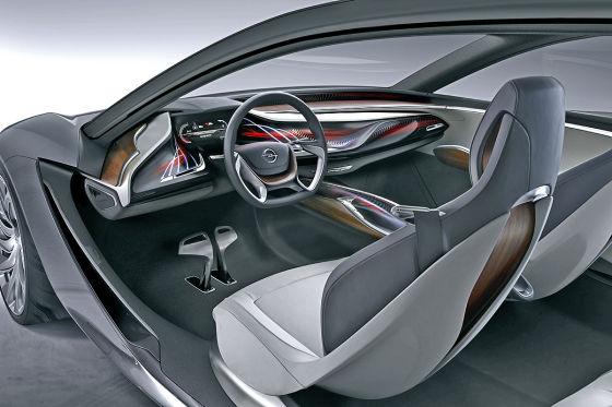Opel Monza Concept Innenraum