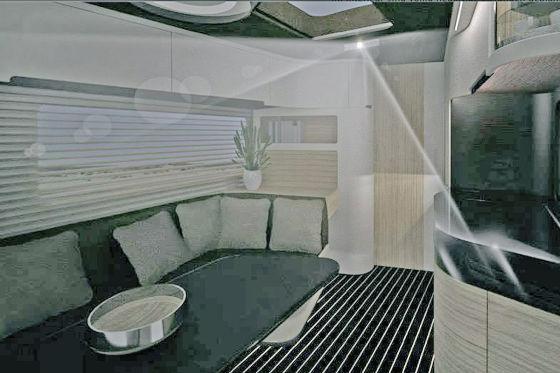 Knaus Tabbert Caravisio Concept Innenraum