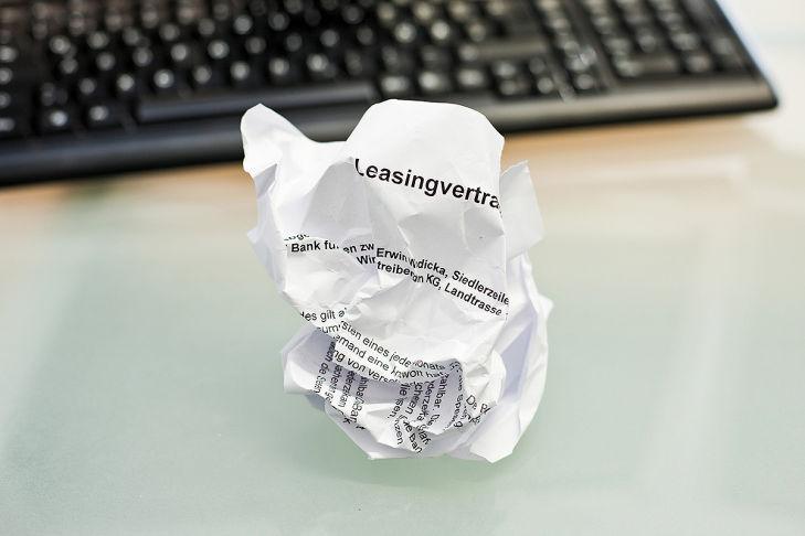 Leasing-Vertrag