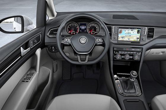 VW Golf Sportsvan Cockpit