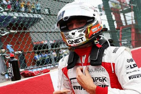 Jules Bianchi könnte schon im kommenden Jahr einen neuen Overall tragen