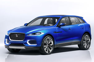 Alu-SUV von Jaguar