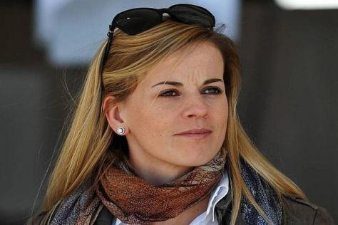 Hübsch und schnell: Susie Wolff träumt von einer Teilnahme an einem Formel-1-Rennen