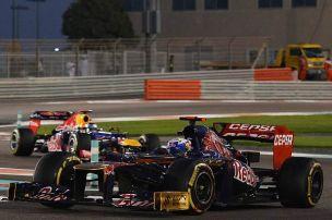 2014: Gleicher Status für Vettel und Ricciardo