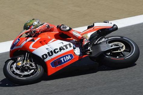 Ducati bestreitet die zweite Saison mit dem Aluminium-Rahmen-Konzept