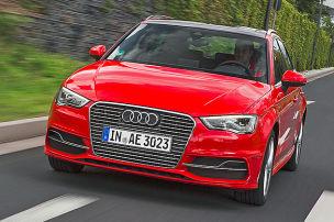 So f�hrt der Audi A3 e-tron