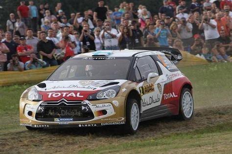 Mikko Hirvonen gewann drei Mal in Folge die Rallye Australien