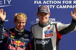 Monza: Vettel-Pole und H�lkenberg-Sensation