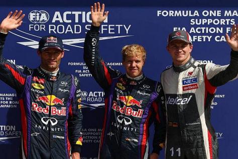 Zwei Überraschungen von Monza: Die erste Stratreihe für Red Bull und Hülkenberg