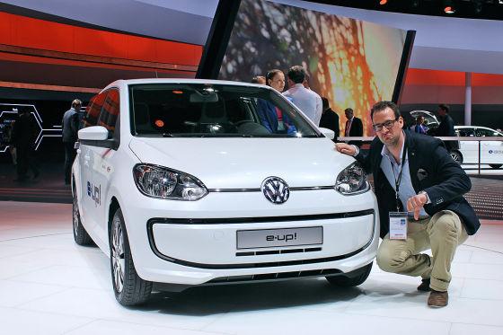 VW e-Up mit Max Bitter