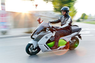 E-Maxi-Scooter von BMW