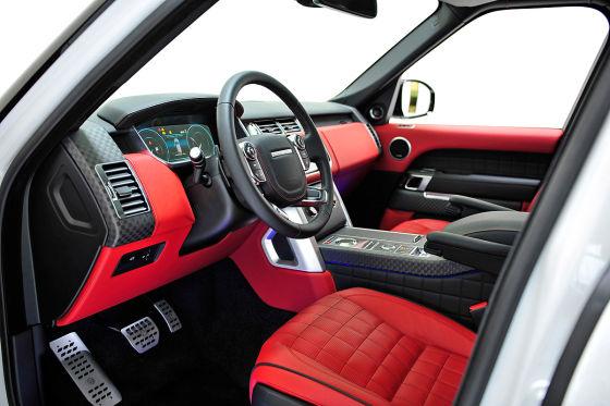 Range Rover  Widebody Breitversion von Startech