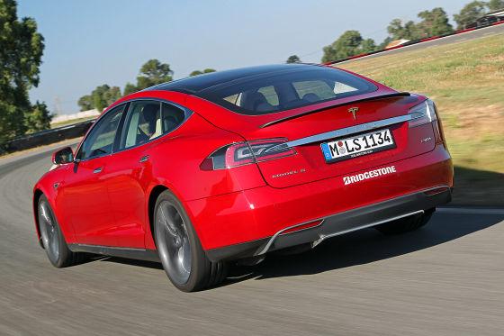 Mach Station bei Tesla!
