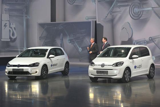 VW e-Up und e-Golf