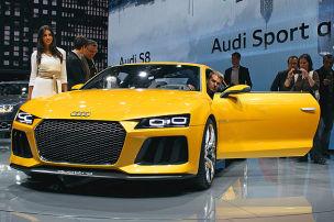 So sitzt es sich im Audi-Extremisten