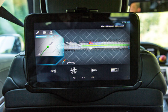 Autonome S-Klasse Monitor