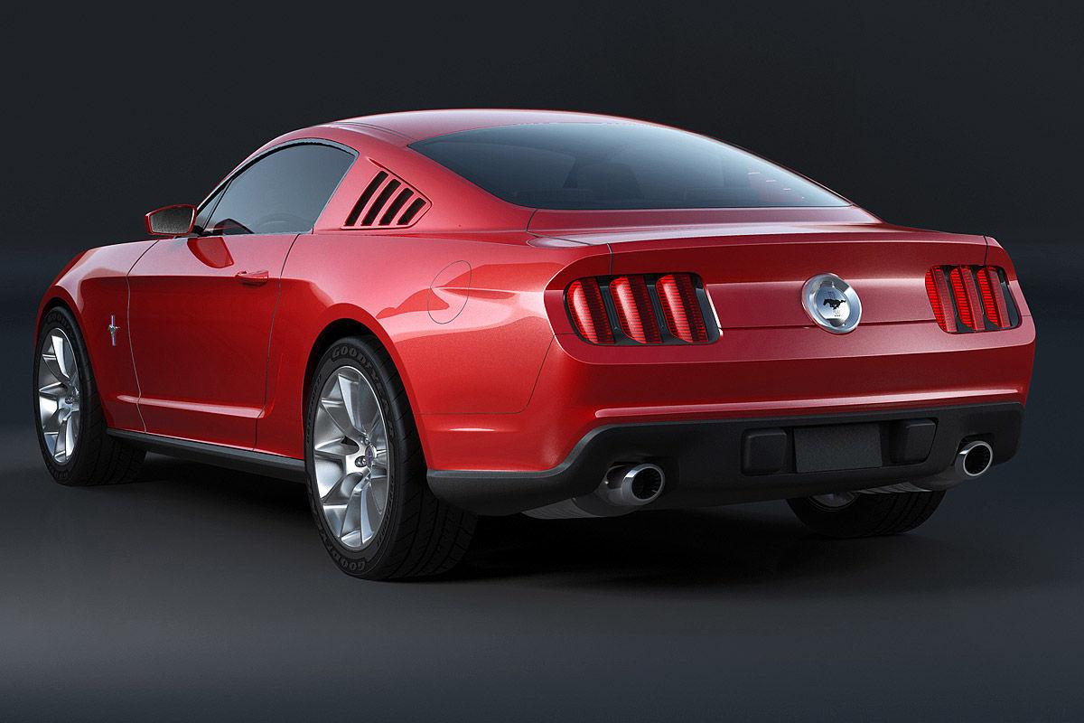 Ford Mustang Designstudie