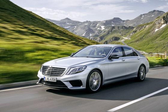 Mercedes S 63 AMG getunte Luxuslimousine