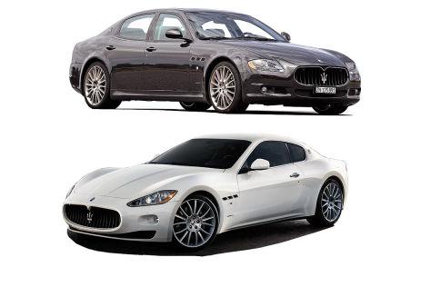 Maserati Quattroporte Maserati GranTurismo
