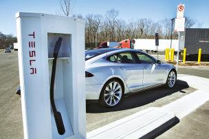 Hier tankt das Model S gratis!