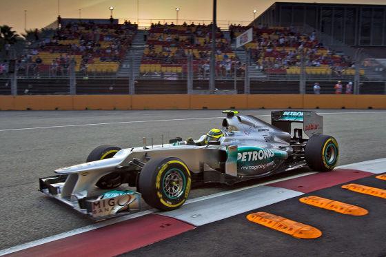 Formel 1 GP Singapur – Nico Rosberg