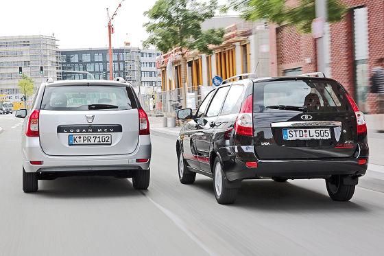 Dacia Logan MCV Lada Priora