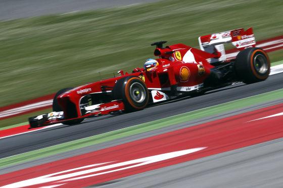 Formel 1 Ferrari Fernando Alonso