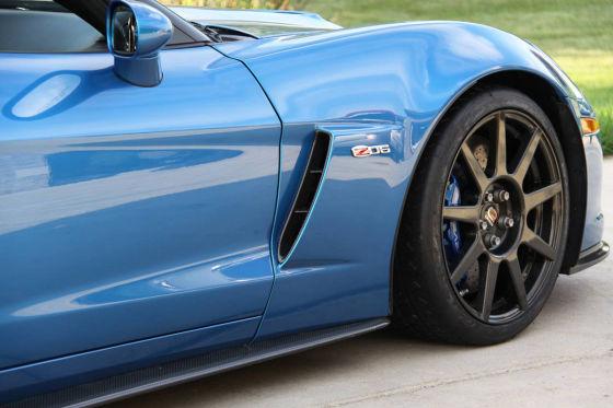 Corvette Z06 (C6) auf CR-9 Carbonrädern